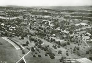 Altes Schwarzweiss-Bild von Buhwil aus dem Jahre 1949